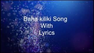 Baha Kilikki Song With Lyrics   Tribute To Team  Bahubali