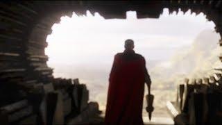 《复仇者联盟4》官方超级碗预告,雷神手持暴风战斧,挑战归隐灭霸