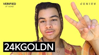 """24kGoldn talk about """"CITY OF ANGELS"""" with Verified"""