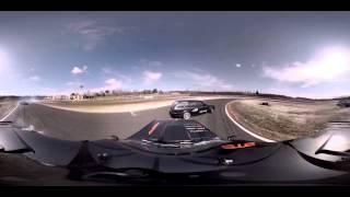 WOOW!!! Панорамное видео 360 градусов! Гонки, дрифт, скорость!