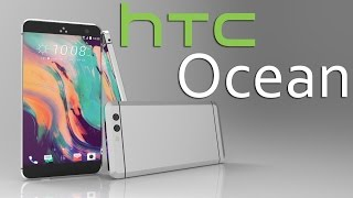 HTC Ocean Concept, World's First Button Less Smartphone, 3D Video Rendering Based on Leaks