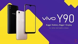 Vivo Y90 Price, First Look, Design, Specifications, Camera, Features