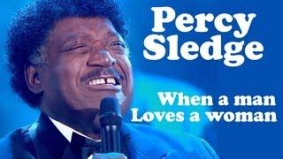 Percy Sledge - WHEN A MAN LOVES A WOMAN - Live dans Les Années Bonheur