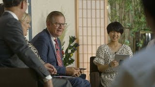 Elder Stevenson Speaks to Japanese Youth in Their Language at Face to Face Event