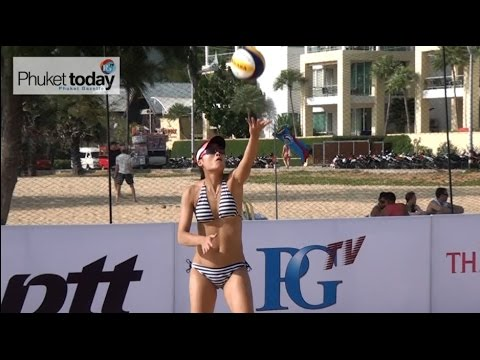 Thailand Beach Volley Fest finals at Karon Beach this Sunday