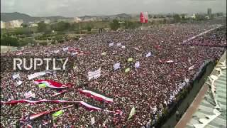 LIVE: March to take place in Sanaa against Saudi-led military intervention in Yemen