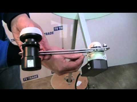 Twin LNB Holder for Saorsat & Freesat Channels
