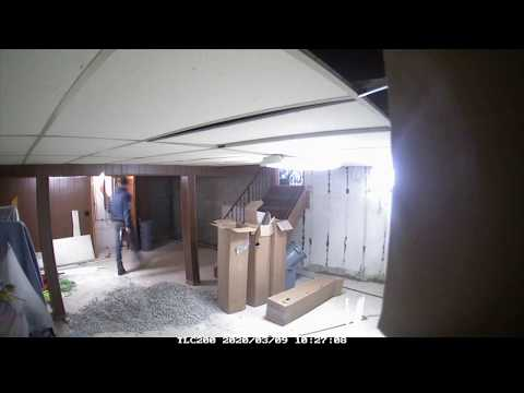 Nasty basement gone in a flash!