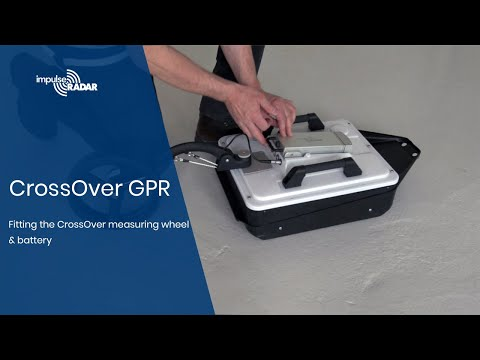 ImpulseRadar - Fitting the CrossOver® Measuring Wheel & Battery