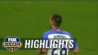 Costa Rica vs. USA   2017 CONCACAF Gold Cup Highlights