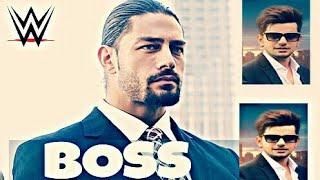 Boss - Jass Manak - Roman Reigns Punjabi Energetic Video ||WWE||