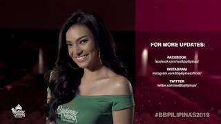 Emma Mary Tiglao Binibining Pilipinas 2019 Introduction Video