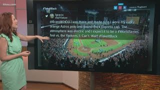 Fans react to Astros advancing to ALCS