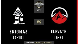 Enigma6 vs Elevate | CWL Pro League 2019 | Division B | Week 9 | Day 4