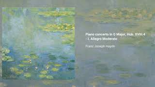 Keyboard concerto in G major, Hob. XVIII:4