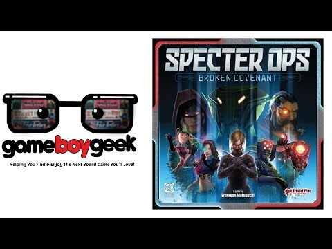 The Game Boy Geek Reviews Specter Ops: Broken Covenant
