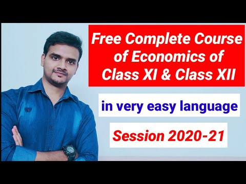 Free Complete Course of Economics class 11th & 12th ... - YouTube