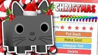 FINDING *NEW* SECRET CHRISTMAS UPDATES IN FAKE ROBLOX PET SIMULATOR GAMES (Update 13)