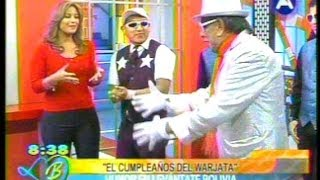 VIDEO: EL CUMPLE DEL WARJATA (en CADENA A)
