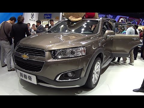 Chevrolet Captiva 2016, 2017 video review