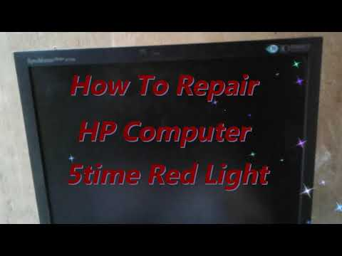 5 beeps on startup hp desktop step by step solution ( with