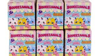 Squeezamals Blind Box Pets Series Unboxing Toy Review