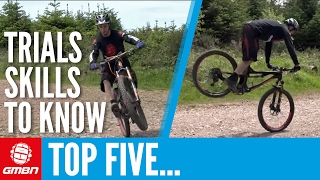 5 Trials Skills That Every Mountain Bike Rider Should Know – MTB Skills