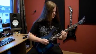 Artillery - Khomaniac (FULL GUITAR COVER WITH SOLOS)