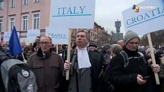 Polonia: Magistraţii au manifestat la Varşovia pentru independenţa justiţiei