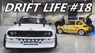 Drift Life #18 - Dzik w SPA, upalanie Omegi, targi Ostróda