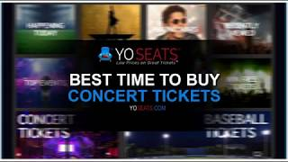When is the Best Time to Buy Concert Tickets?
