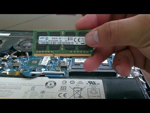 Upgrading RAM 8 GB to 16 GB DDR3L 1600Mhz on Lenovo Laptop