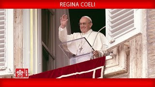 Papa Francesco - Recita della Preghiera del Regina Coeli 2018-05-20