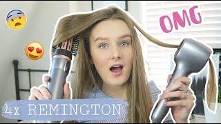 4 HAIRTOOLS IN 1 TESTEN! - Remington hair