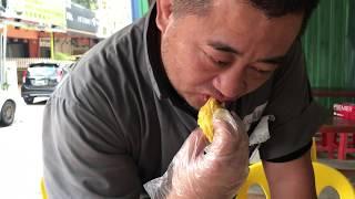 マレーシアでドリアンの季節終わりに猫山王のドリアンを食べてみる #オジ旅PR #新日本焼肉党 #マレーシア
