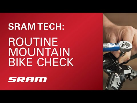 SRAM Tech: Routine Mountain Bike Check