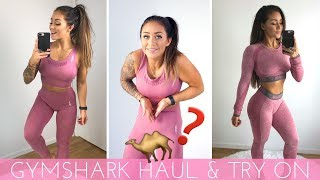 GYMSHARK ENERGY SEAMLESS TRY ON & HONEST REVIEW - HOW TO STYLE YOUR GYMSHARK