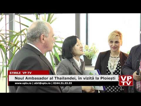 Noul Ambasador al Thailandei, în vizită la Ploiești