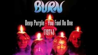 Deep Purple - You Fool No One (lyrics)