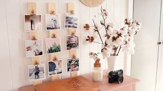 DIY Photo Display For Your Home