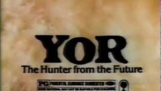 Yor, the Hunter from the Future (1983) Video