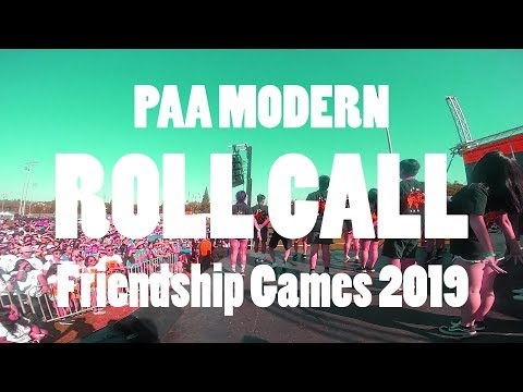 UCM PAA Moderns | Roll Call Full Routine | Friendship Games 2019