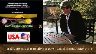 ชาติไทยฉิบหายแน่ หากไม่หยุดคสช. แล้วเปลี่ยนระบอบด่วน...ดร. เพียงดิน รักไทย