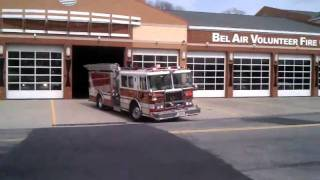 Belair engine 311 enroute to automatic alarm