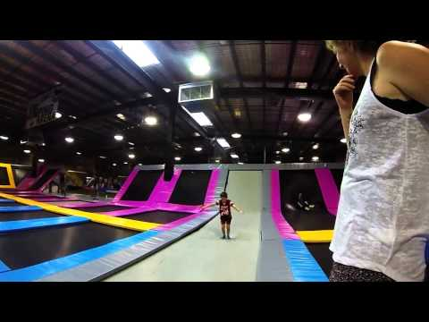 Bounce Melbourne Trampoline Park 2015