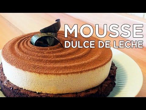 Mousse de Dulce de Leche | Savarín Pastelería