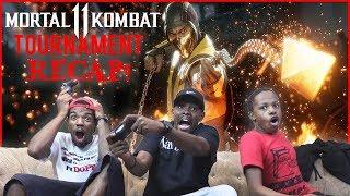 Mortal Kombat 11 Ninja Member Cash Tournament! (Things Get Heated!)