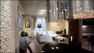 Белый кирпич в интерьере квартиры