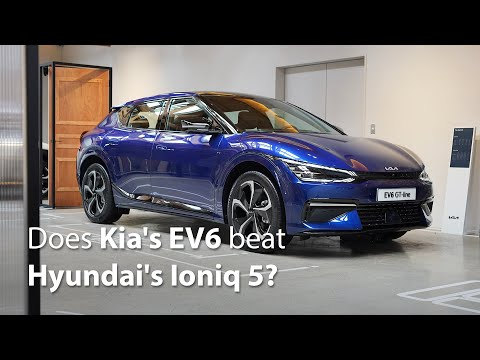 Kia's EV6 is stunning from the side