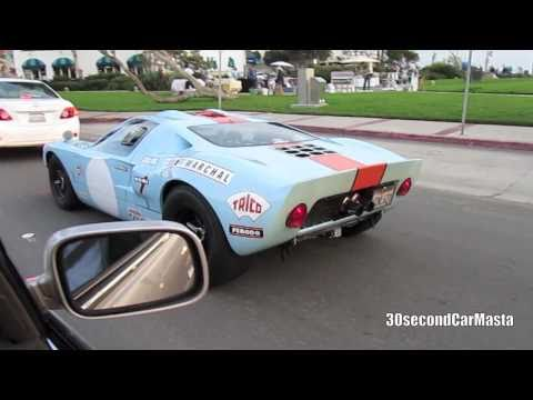 Blue Superformance Ford GT40 Gulf Replica